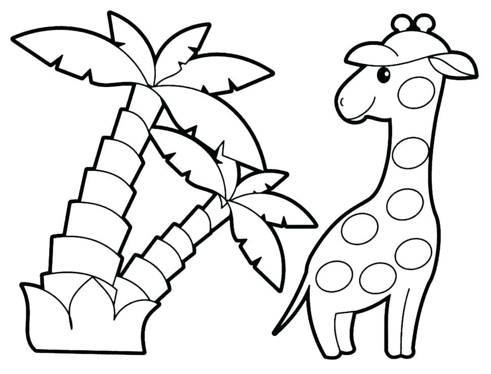 970x739 Jungle Bird Parrot Coloring Pages Printable For Kids Teaching