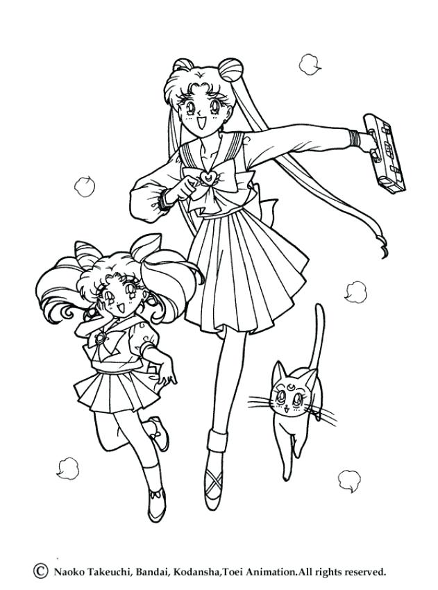 631x850 Sailor Jupiter Coloring Pages Sailor And Sailor Mars In Sailor
