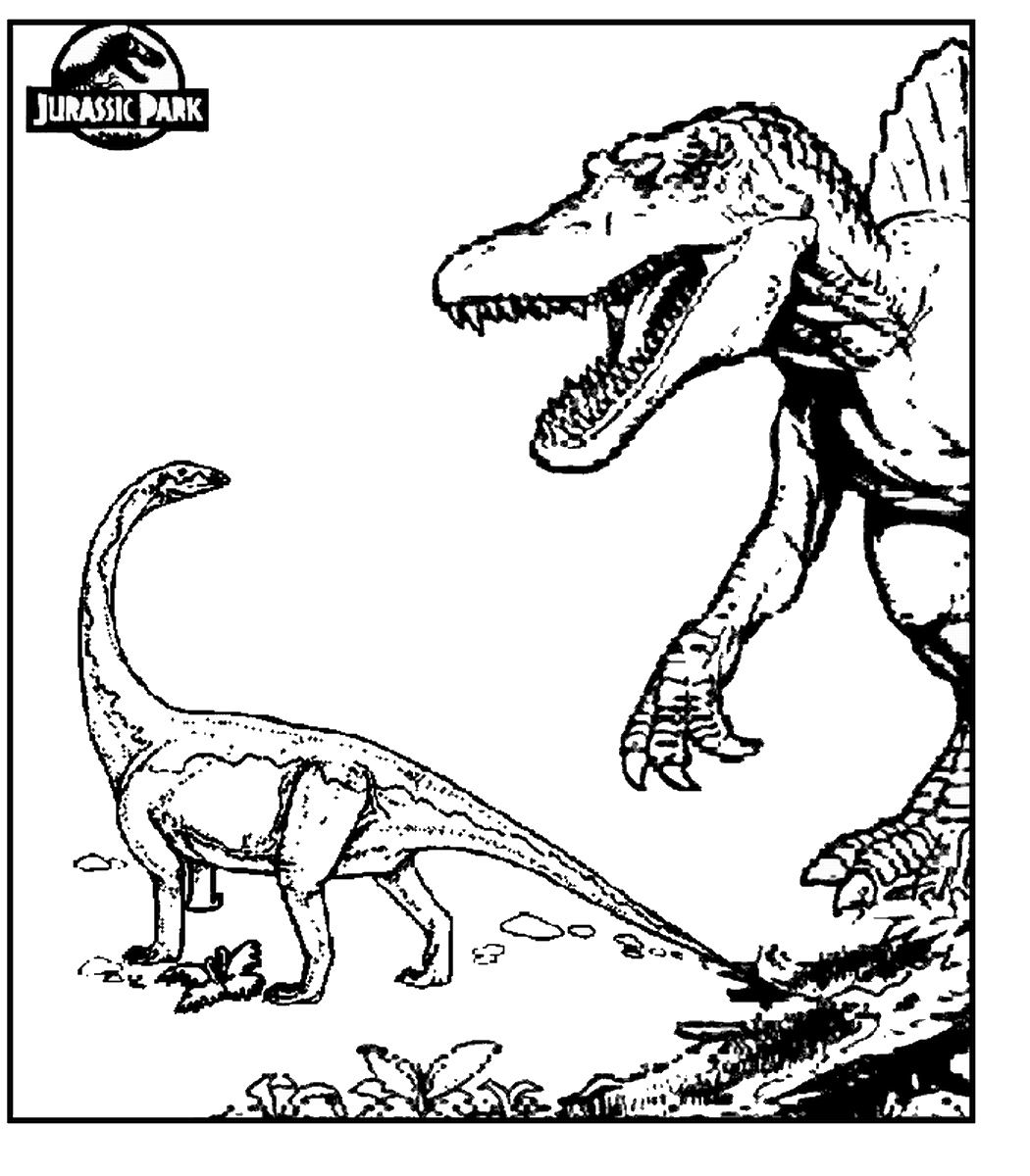 Jurassic Park 3 Coloring Pages