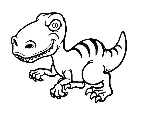 600x470 Velociraptor Coloring Pages Related Post Jurassic Park