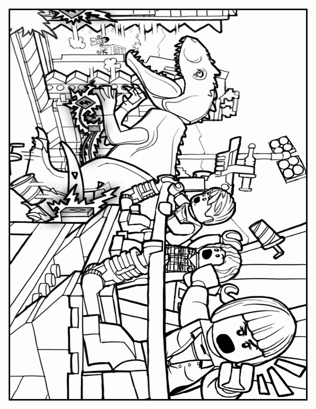1082x1400 Awesome Jurassic Park Coloring Pages Kids Information And Ideas