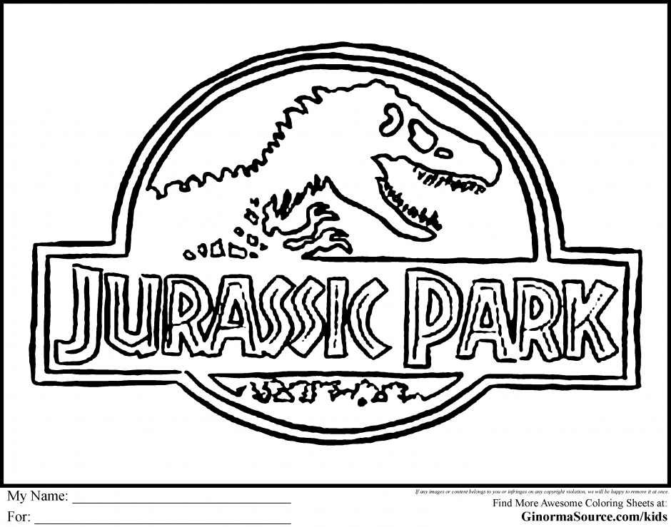 940x739 Jurassic Park Coloring Pages Images Free Coloring Pages
