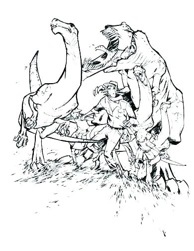 390x504 Jurassic Park Coloring Pages Park Coloring Book Coloring Pages