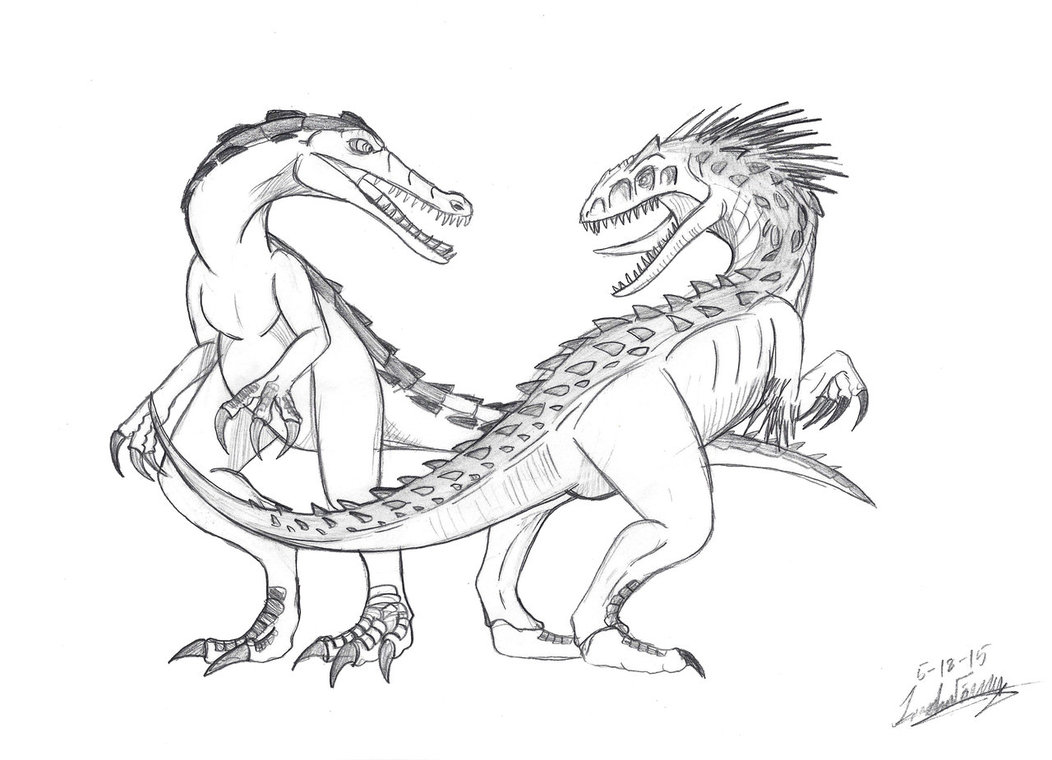 Jurassic World Coloring Pages Indominus Rex at GetDrawings ...