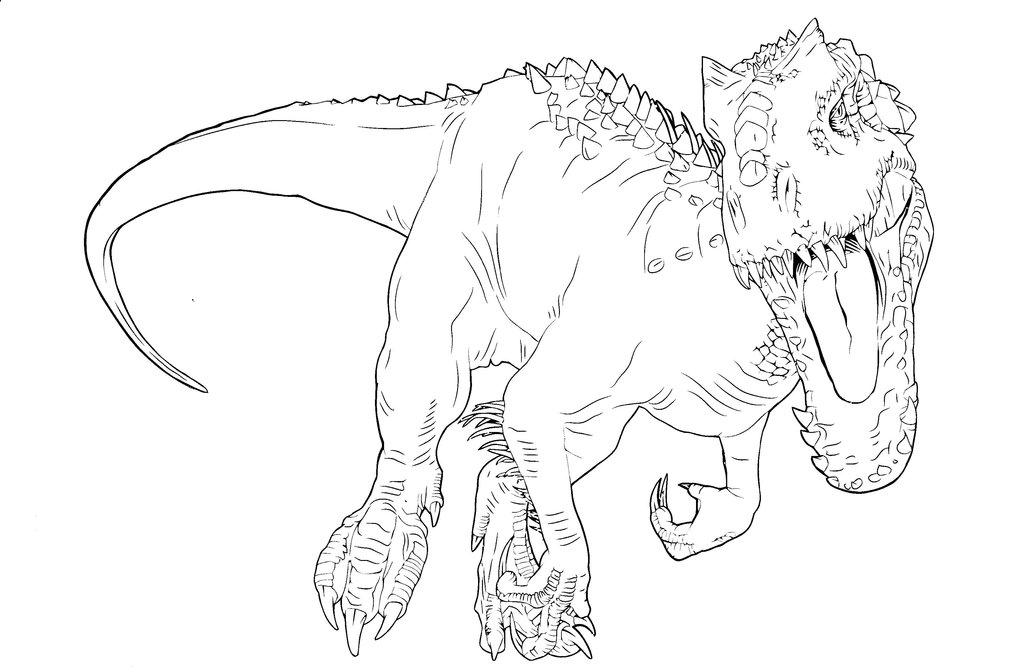 1024x668 Jw Color Book Indominus Rex
