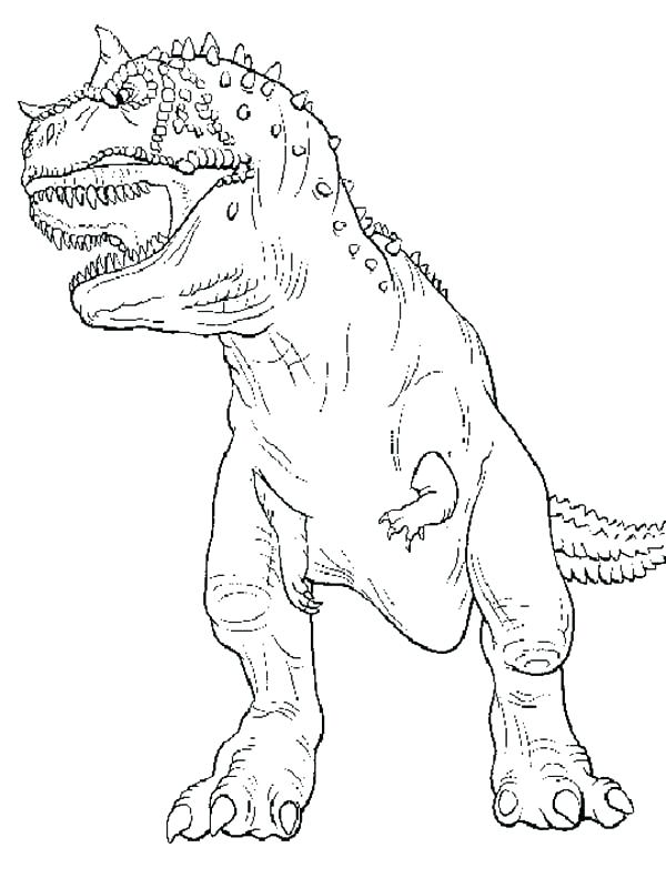 600x800 Indominus Rex Coloring Pages Free Icontent