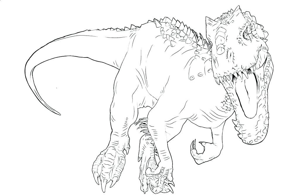 1024x668 Indominus Rex Coloring Page T Pages In Pretty World Lego Jurassic