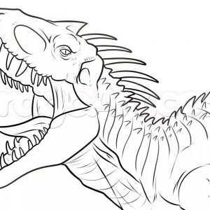 300x300 Jurassic World Coloring Pages Online Fresh Colouring Pages