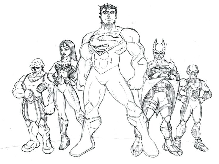 736x553 Justice League Coloring Pages Best Justice League Coloring Pages