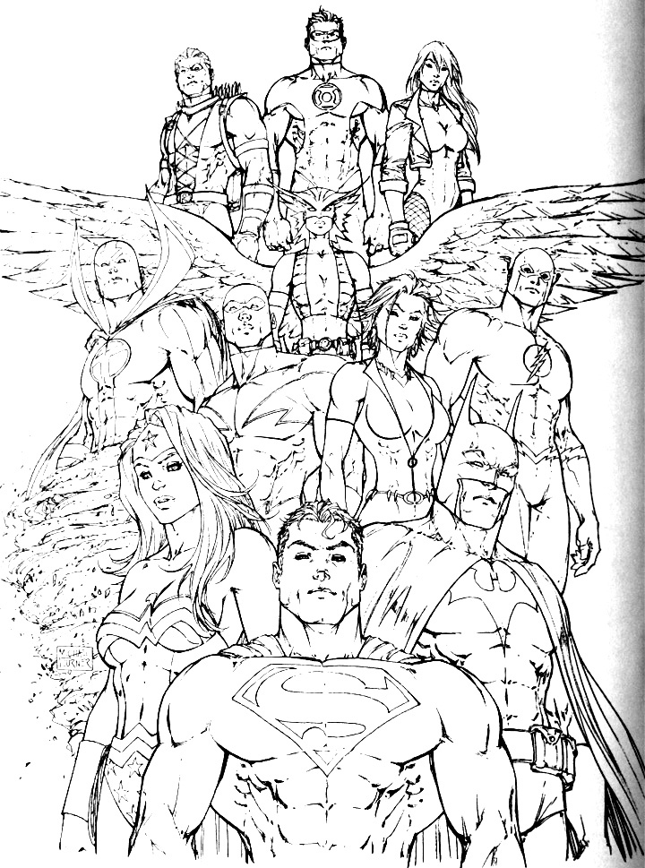 720x969 Justice League Coloring Pages Lovely Free Justice League Coloring