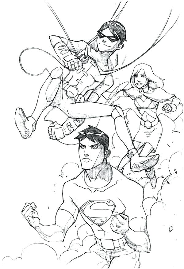 600x875 Justice League Coloring Pageslso Justice League Coloring Pages