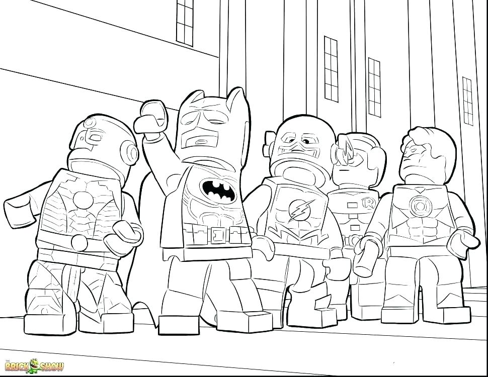 Justice League Coloring Pages Free Printable at GetDrawings ...