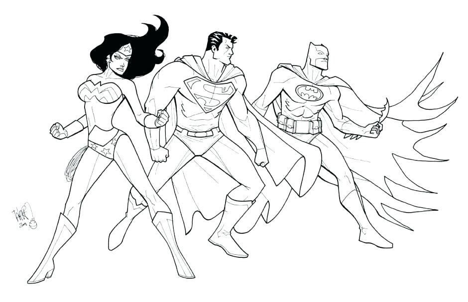 940x608 Justice League Coloring Pictures Justice League Coloring Pages
