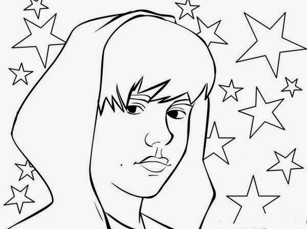 600x448 Beautiful Design Ideas Justin Bieber Coloring Pages To Print