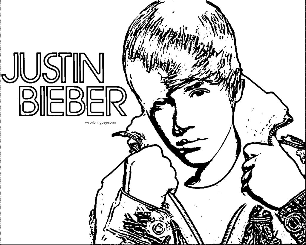 1024x820 Justin Bieber Coloring Pages Printable Image In Beiber