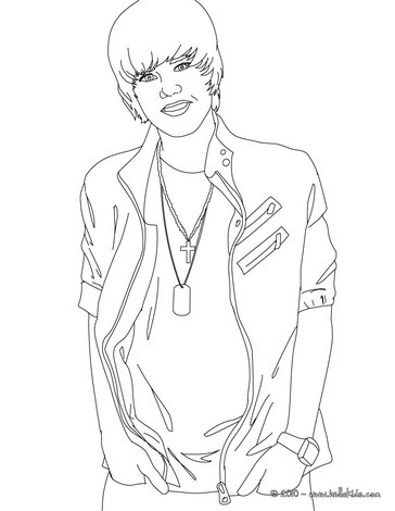 364x470 Justin Bieber Coloring Pages Justin Bieber Coloring Pages Coloring