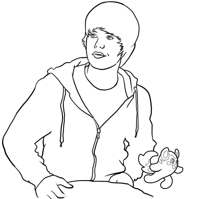 Justin Time Coloring Pages at GetDrawings.com | Free for personal ...