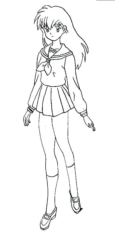 Free Coloring Pages Of Human Inuyasha 19548 | Coloring pages, Free ... | 933x449