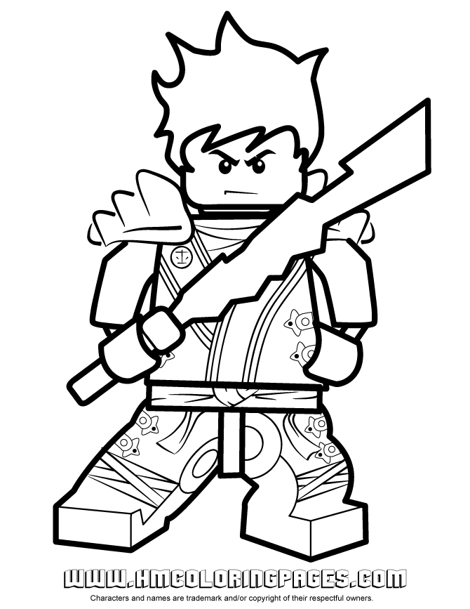 Kai Coloring Pages