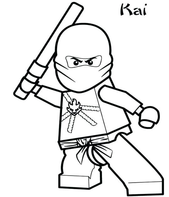 540x630 Kai Coloring Pages Kai Zx Coloring Pages Ninjago Kai Coloring
