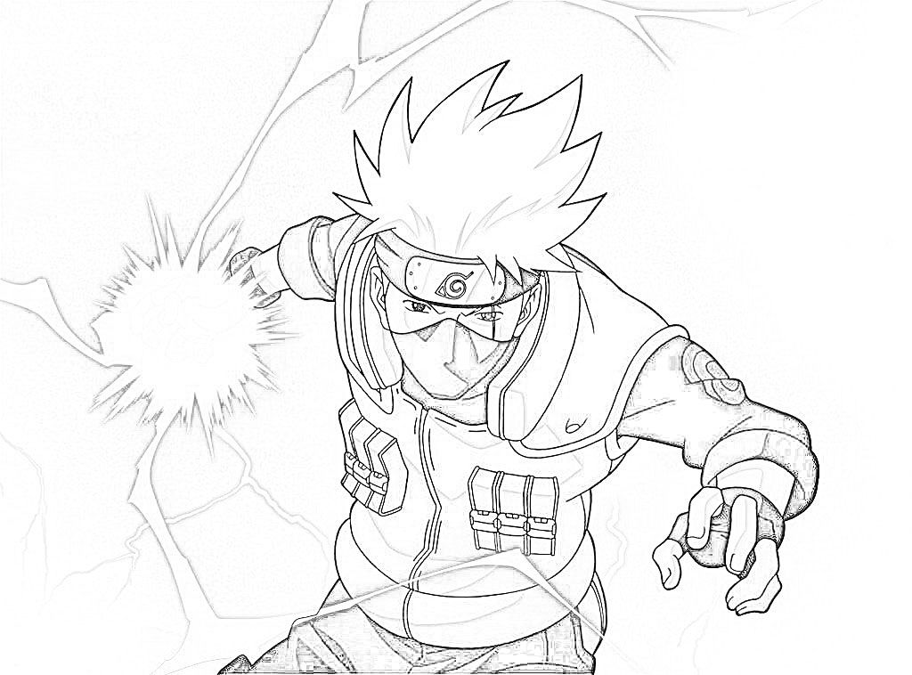 The Best Free Kakashi Coloring Page Images Download From 86