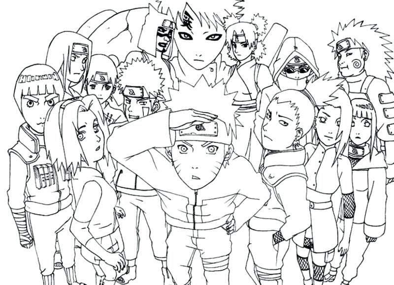 800x580 Coloring Pages Of Naruto Awesome Coloring Page Naruto Coloring