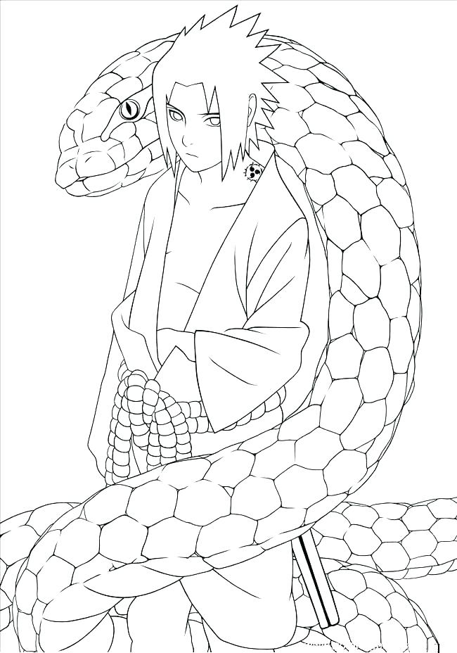 650x928 Kakashi Coloring Pages Epic Coloring Pages New Snake For Kids