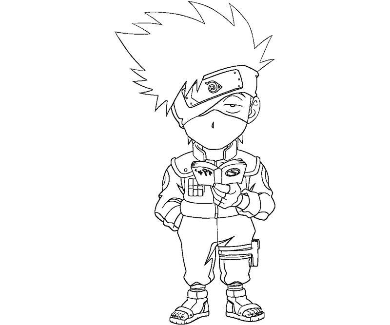 800x667 Kakashi Hatake Coloring Crafty Teenager