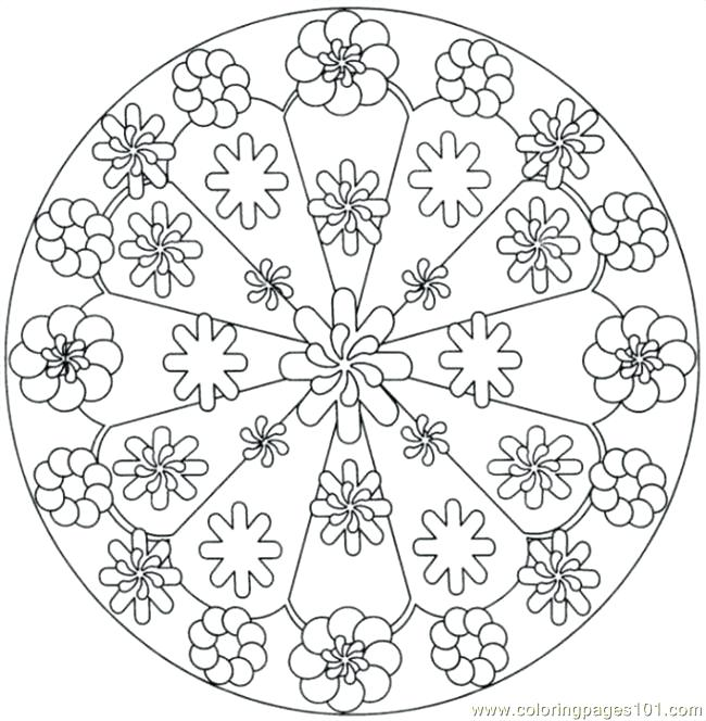 The Best Free Kaleidoscope Coloring Page Images Download From 202