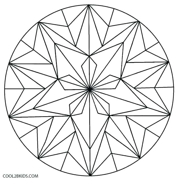 630x639 Geometric Coloring Pages Pdf Geometric Coloring Pages Geometric