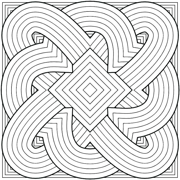 736x736 Kaleidoscope Coloring Pages Packed With Kaleidoscope Coloring
