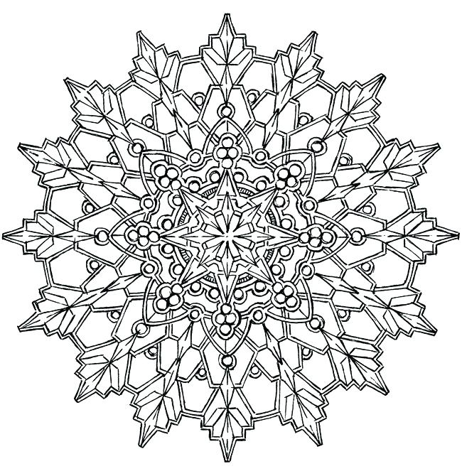 650x670 Kaleidoscope Coloring Pages Packed With Free Kaleidoscope
