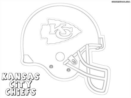 Kansas City Chiefs Coloring Pages At Getdrawings Free Download