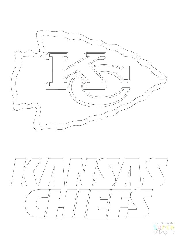 618x824 Kansas City Chiefs Coloring Pages Football Helmet Bears Coloring