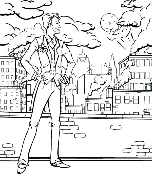 600x767 City Coloring Pages Printable City Coloring Pages Printable Ninja