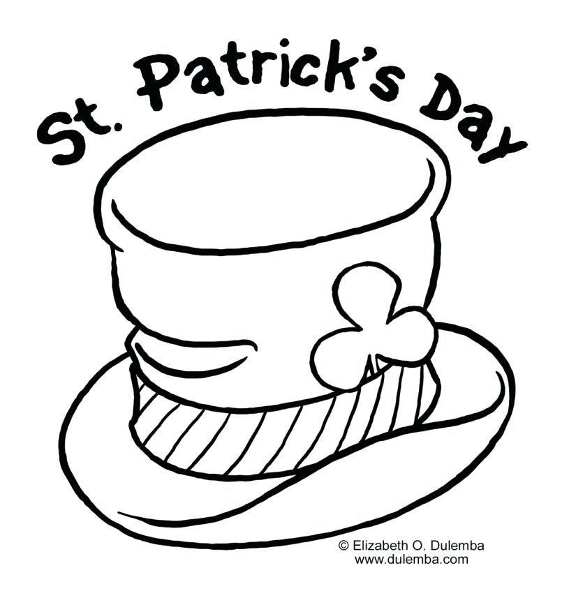 805x857 Free Printable St Day Coloring Pages Plus S Sheets And Activities
