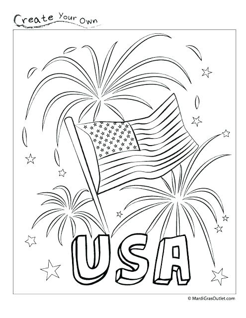 495x640 Us Symbols Coloring Pages