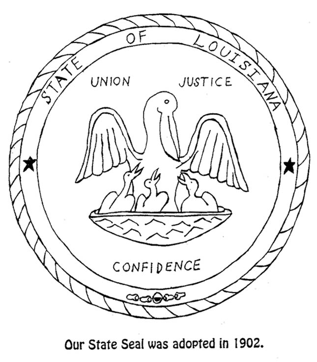 645x736 Coloring Seallouisiana State Symbols Coloring Pages