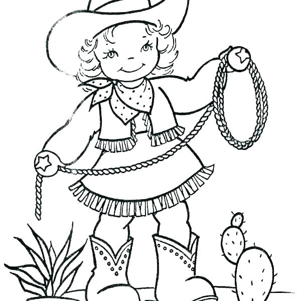 596x600 Old West Coloring Pages Western Coloring Pages Cowboy Boots