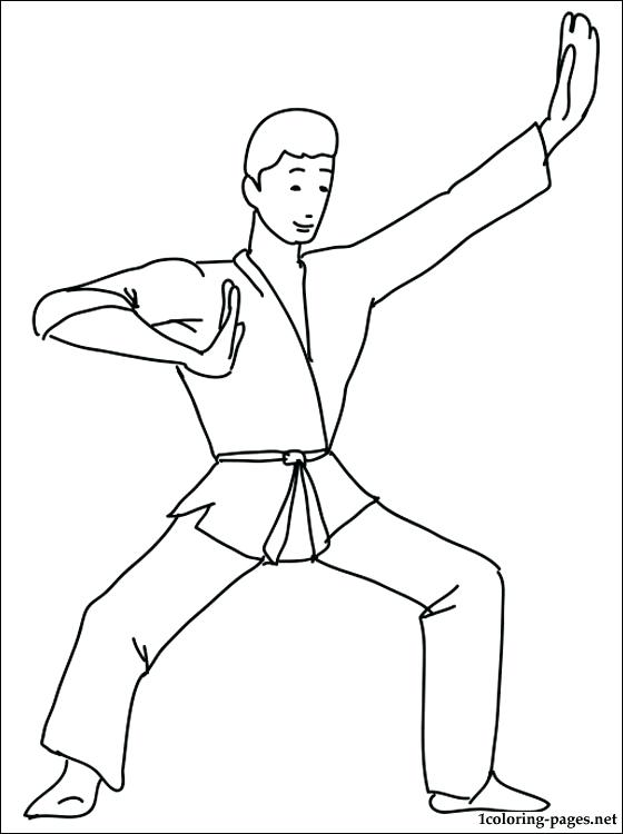 560x750 Karate Kid Coloring Pages And Karate Kids Coloring Pages Karate