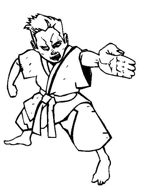 491x635 Kids N Coloring Pages Of Karate
