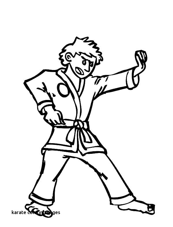 600x788 Smurf Karate Coloring Page Wecoloringpage Karate Uniform Coloring