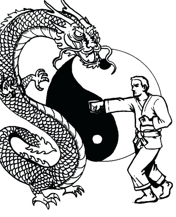 600x741 Inspirational Karate Kid Coloring Pages And Karate Coloring Pages