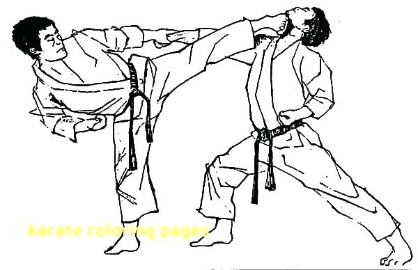 600x388 Coloring Pages The Karate Kid Coloring Page Coloring Karate Kid