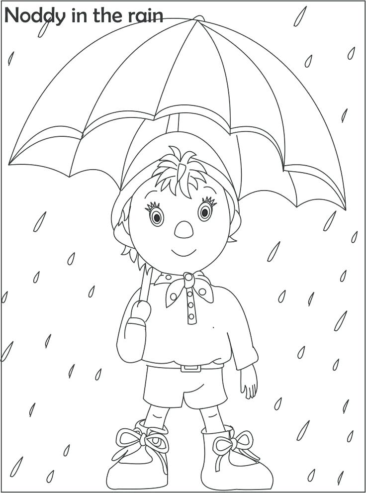 736x991 Kate And Mim Mim Coloring Pages Awesome Noddy Cartoon Coloring