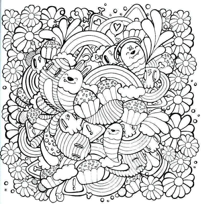 786x800 Coloring Kawaii Coloring Pages Pi St Printable Unicorn Kawaii