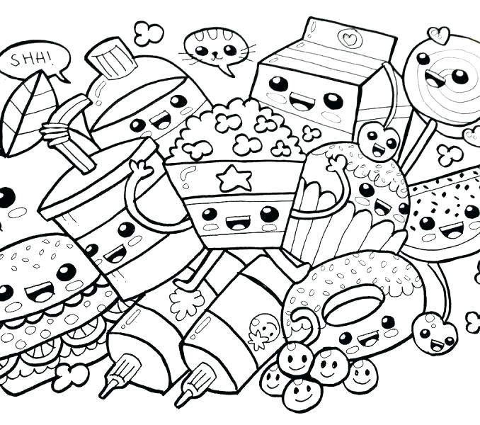 678x600 Kawaii Coloring Book Coloring Pages Coloring Book Together