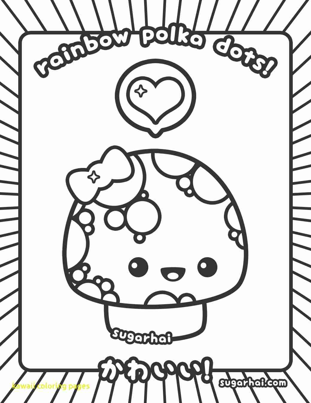 1040x1346 Kawaii Coloring Pages With Free Printable Within Page Olegratiy