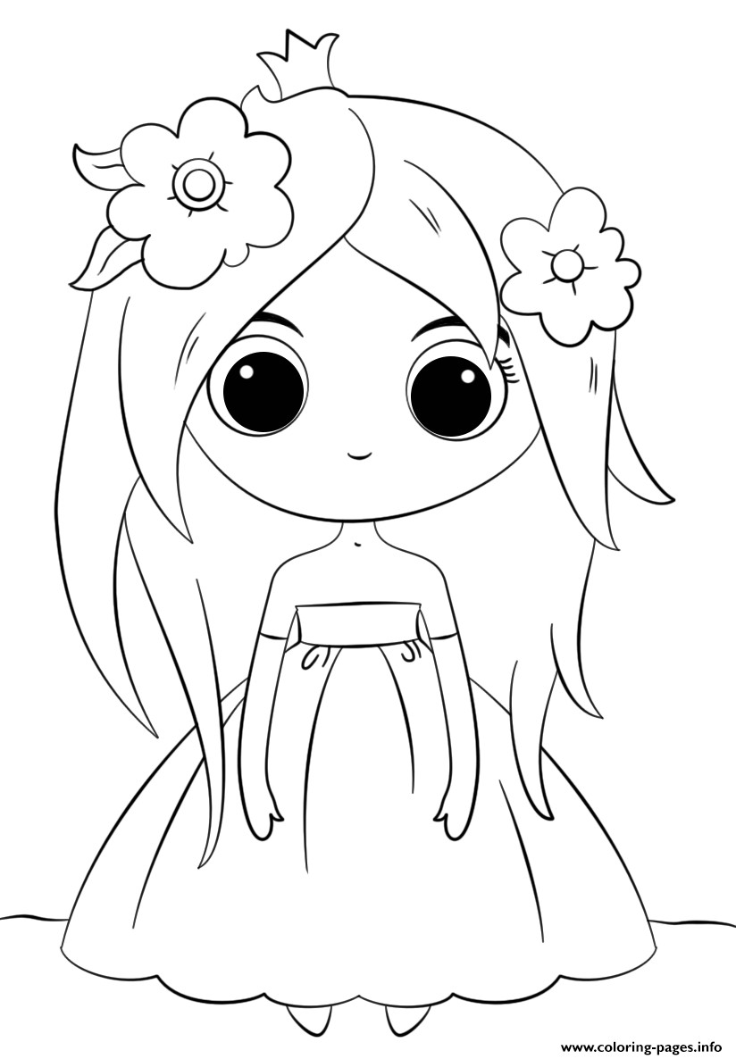 Kawaii Printable Coloring Pages At Getdrawings Com Free For