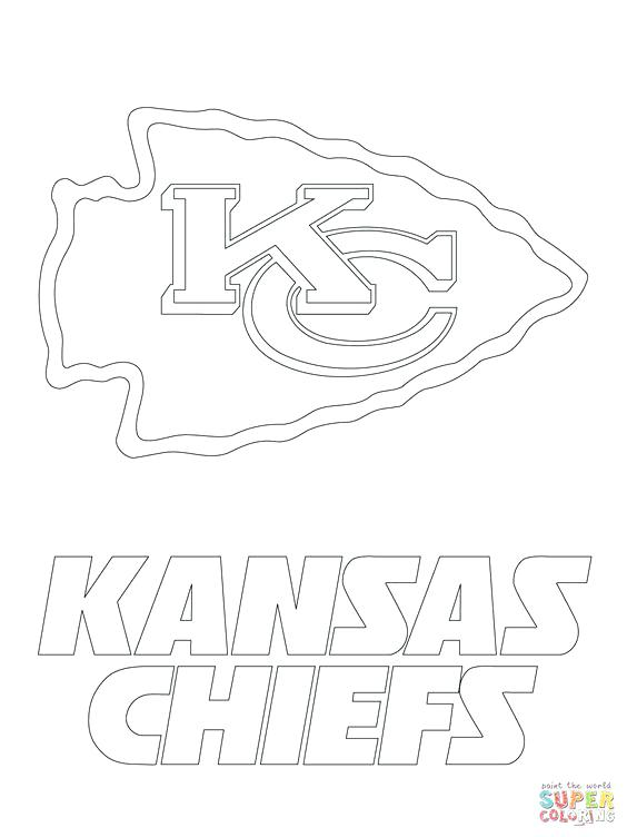 564x752 Kansas City Chiefs Coloring Pages Football Coloring Pages Free